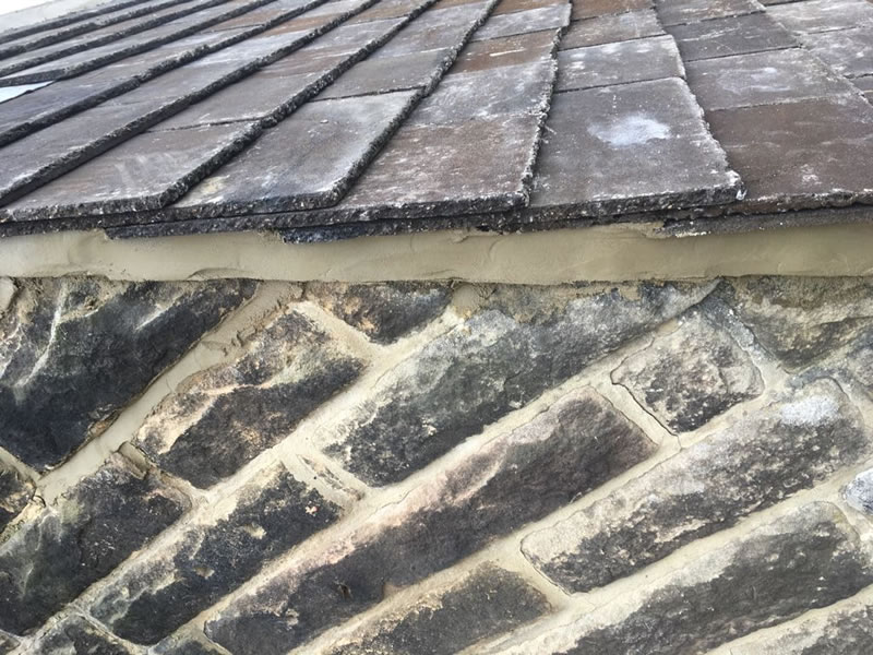 Cottage Roof Matched To Rustic Brown Forticrete Hardrow